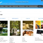 Conception du site Internet Camping Champigny