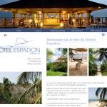 Référencement naturel de l'hotel Espadon