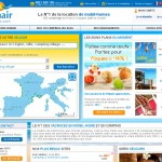 Conception du site Homair