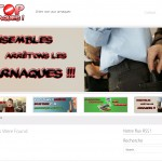Création du site Stop Arnaques !
